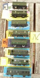 Piko-Konvolut-8-Stueck-Windberg-Personenwagen-DR-Epoche-3-gebraucht-erhalten-N