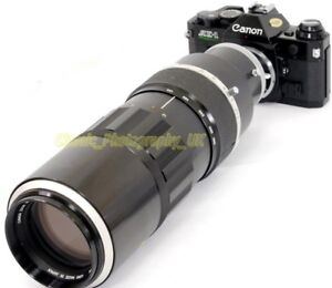 Canon-ZOOM-Lens-FL-85-300mm-1-5-Ultra-rare-Professional-POWERFUL-Telephoto-ZOOM