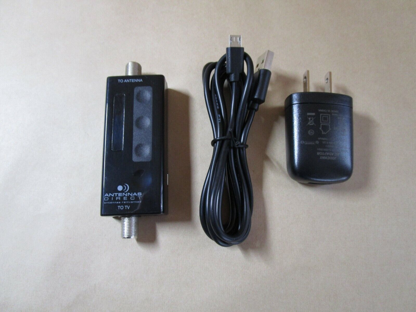 Antennas Direct ClearStream replacement Amplifier with power supply . Available Now for 12.00