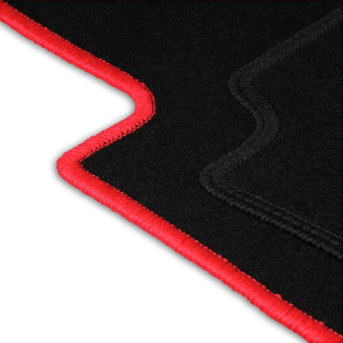 Fußmatten Auto Autoteppich passend für Fiat Cinquecento 1991-1998