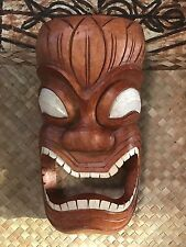 New Ku Towell Holder Tiki Mask Smokin' Tikis Hawaii 1211f