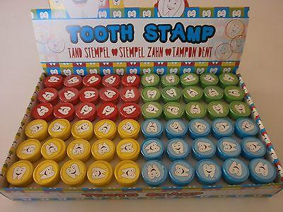 360 Zahn Stempel - Zähnchen Motiv Mitgebsel Kindergeburtstag Kinderstempel N 175