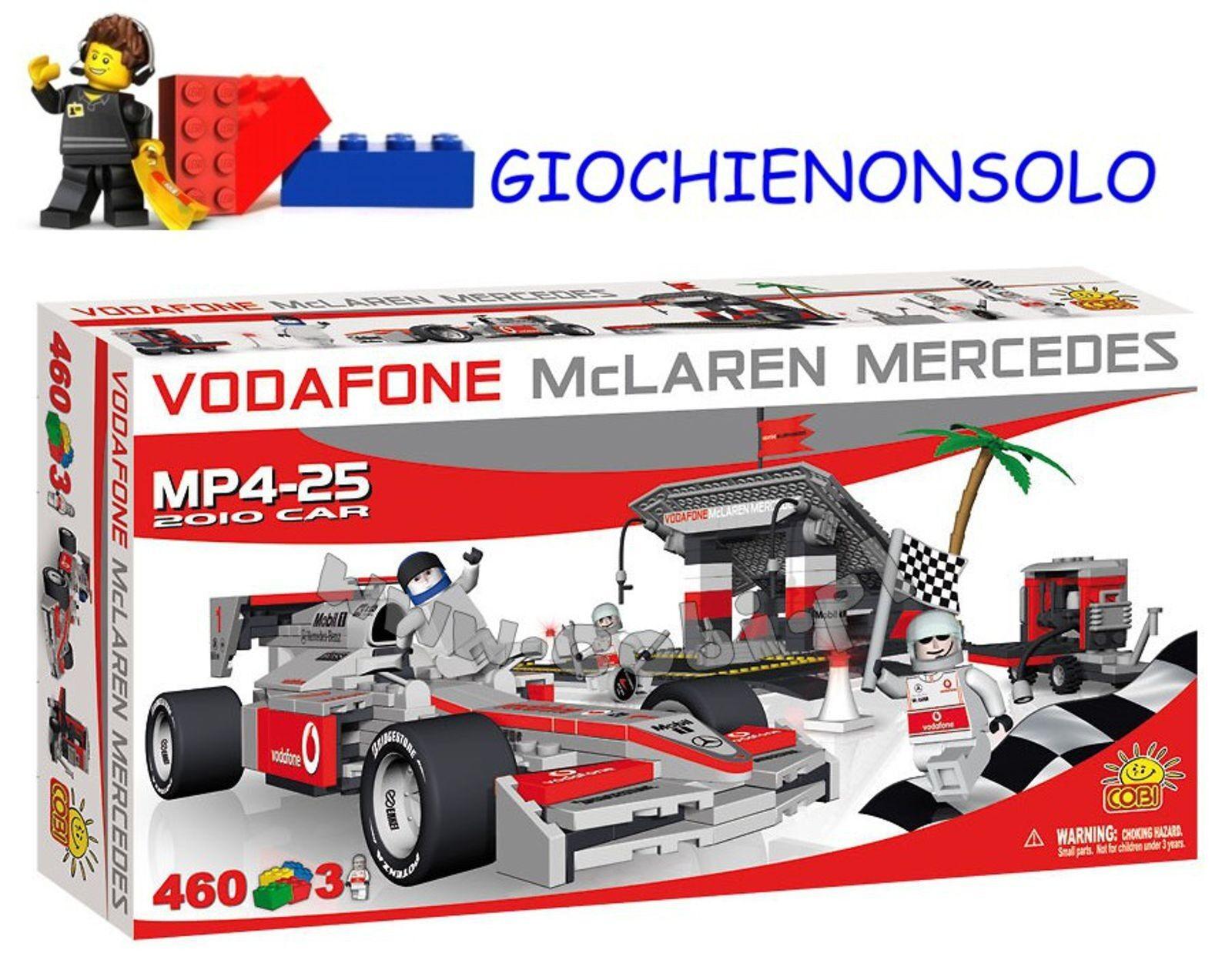 COBI 25460 - MCLAREN PIT STOP 460