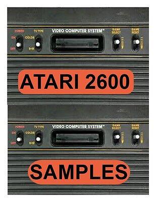 Atari 2600 Sample Library DOWNLOAD - 1600+ WAV samples (570MB) circuit bent