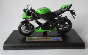 KAWASAKI-NINJA-Motorbike-Boys-Toy-Model-1-18-Stocking-Filler-Boxed-Present-Gift