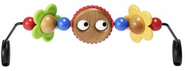BABYBJÖRN Holzspielzeug für Babywippe, Fröhliche Augen