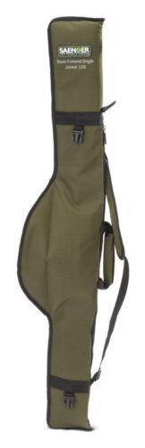 SAENGER Single Jacket 165 cm Rutenfutteral für Tele und Steckruten 125cm