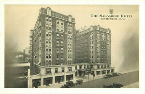Postcard-The-Sagamore-Hotel-Rochester-NY