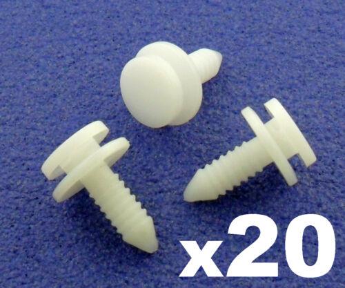 20x Skoda Interior Trim Clips, A-Pillar, B-Pillar, C-Pillar Clips - 3B0867333