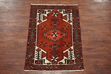 $1 NR 3X5 Antique Sarab Hand-Knotted Wool Persian Area Rug Carpet (3.1 x 4.7)
