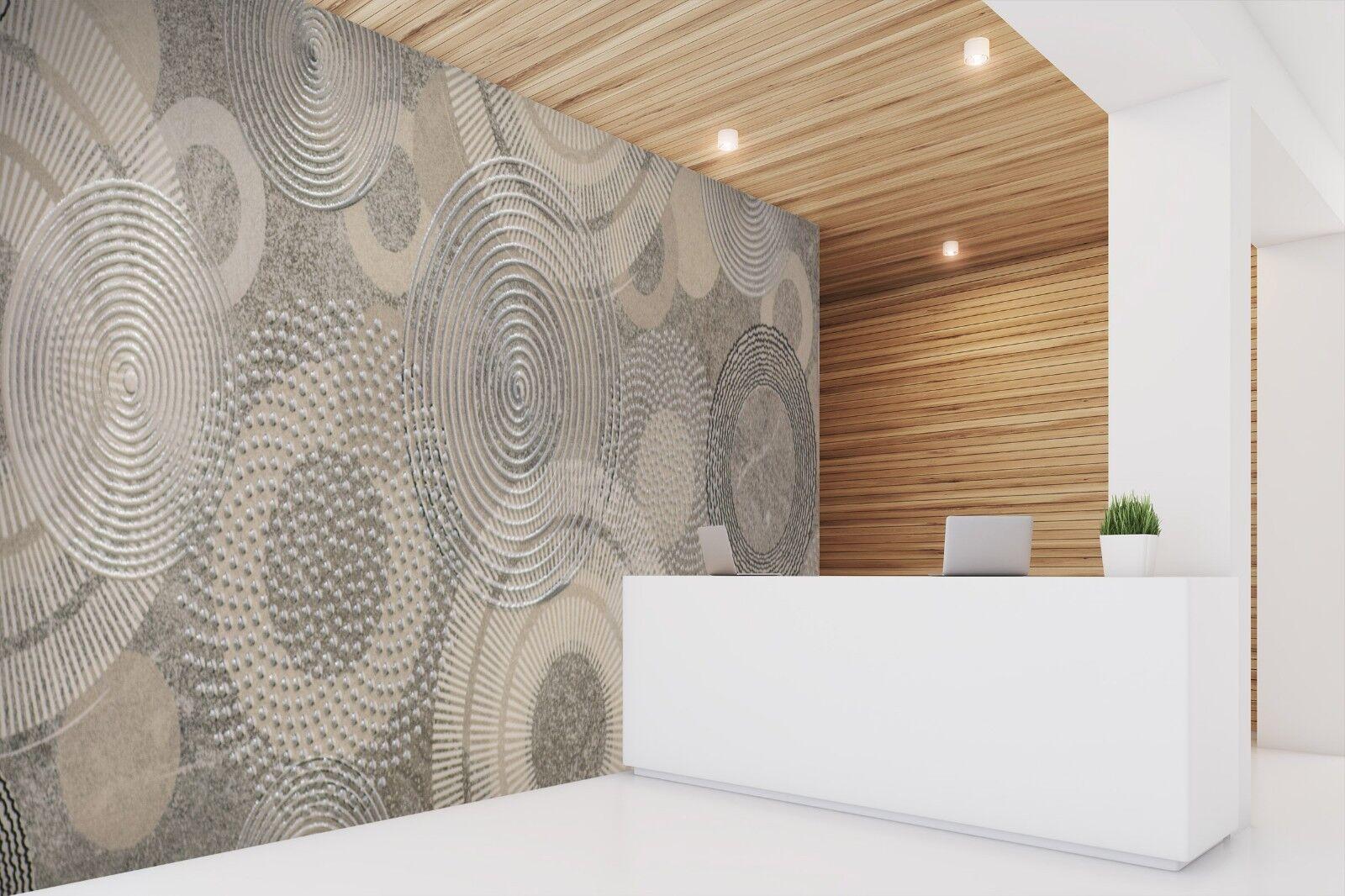 3D Kreis Muster 765 Textur Fliesen Marmor Tapeten Abziehbild Tapete Wandbild