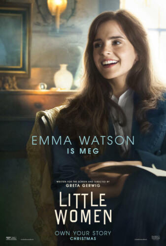 New Little Women Movie 2019 Emma Watson Poster 24x36 27x40 X-194