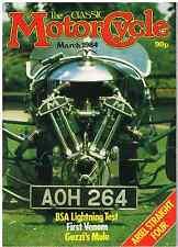 CM 84-03 BSA A65 Lightning Velocette Venom BSA L25 James Captain Norton model 50