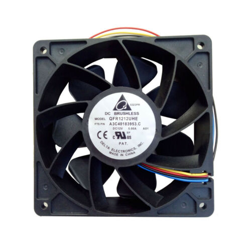 120mm 7500RPM Cooling Fan Replacement 4-pin Connector For Antminer Bitmain 120