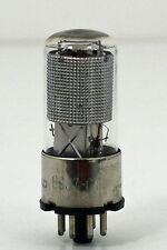 Hickok Tested Tel Rad 6SJ7 GT Vacuum Tube Silver Plates Japan