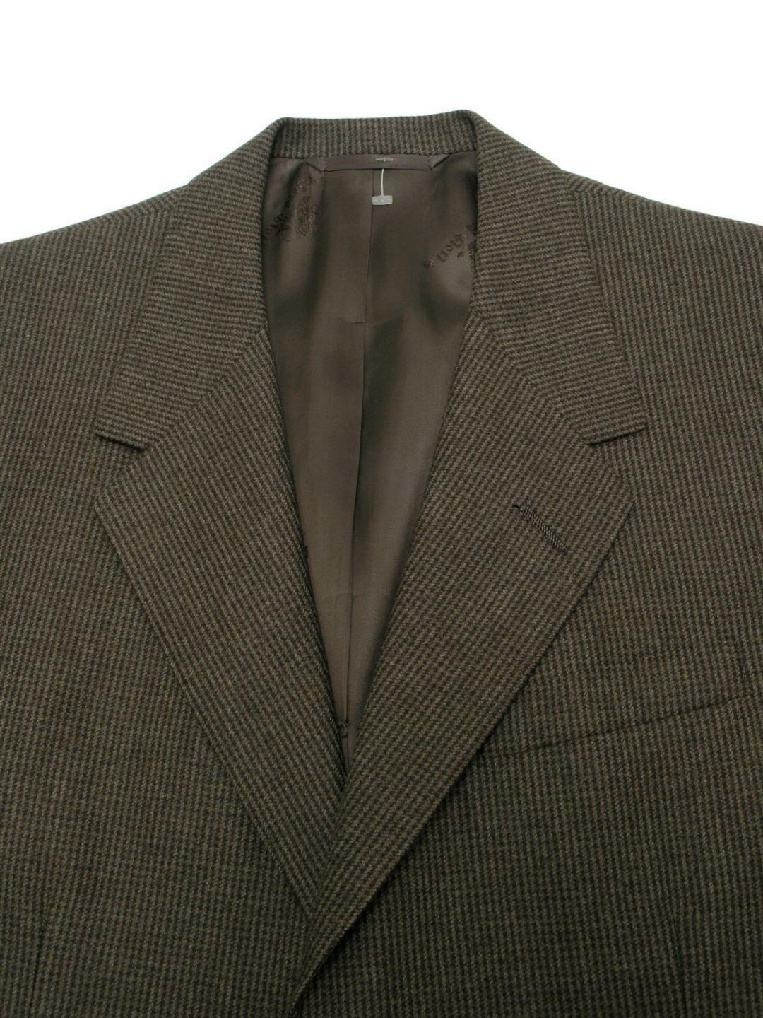 OXXFORD Suit Cashmere Wool Masterworks Super 150's Bespoke 42 44R 34Wx30.25L