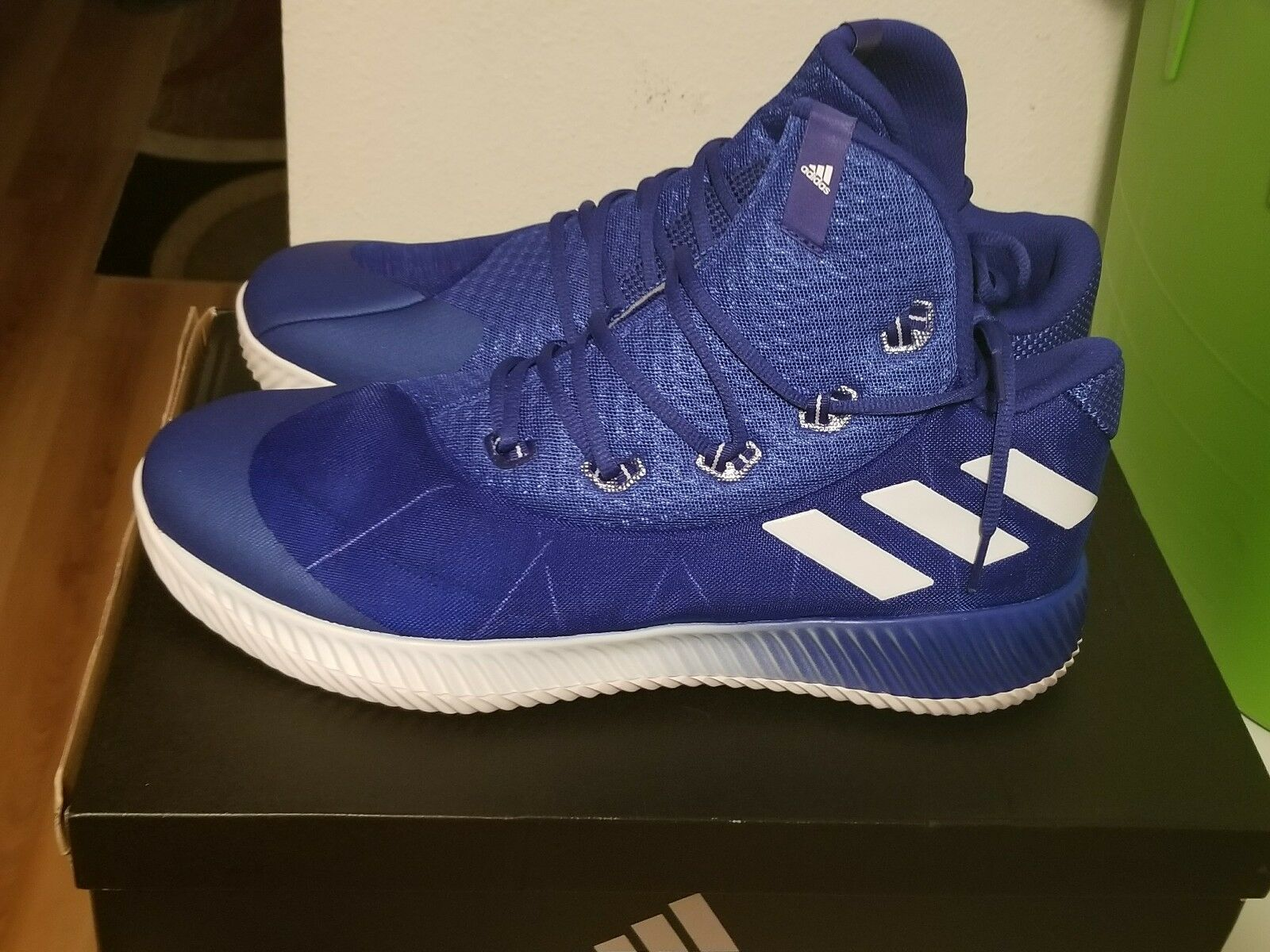 Addidas men's energy bounce bluee basketball shoes size 15
