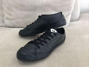 Actual trabajador Tubería  ADIDAS All Black Nizza Lo Remo Sneakers Trainers Shoes US 9 Mens [MS4] |  eBay
