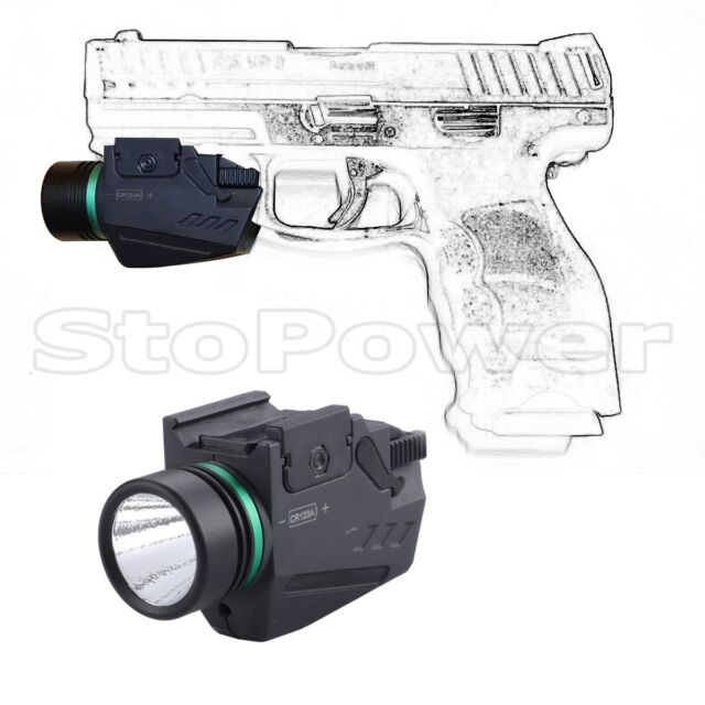Tactical Red Laser Sight /&CREE Led Flash Light Combo for shotgun rifle 20MM Rail