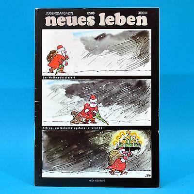 Ddr Neues Leben 12/1988 Olympia Mittweida Herzbuben Weihnachten Humboldt-uni E