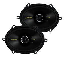 "Kicker 40CS684 6x8"" 225W 2 Way Car Coaxial Speakers Stereo Audio CS684"