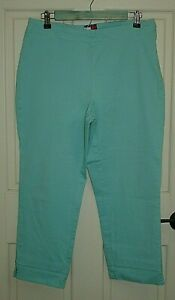 Tommy-Hilfiger-Womens-Size-14-32x24-Blue-Capri-Cropped-Pants-Stretch-87-14970