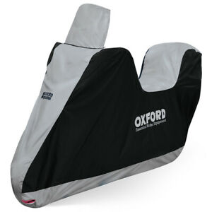 Oxford-Aquatex-Motorcycle-Motorbike-Scooter-Waterproof-Cover-High-Screen-Top-Box
