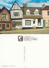 1990's THE CROOKED HOUSE HIGH STREET LAVENHAM SUFFOLK UNUSED COLOUR POSTCARD (a)