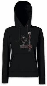 Daryl The Donna Walking Hunter Tv Felpa Cappuccio Dead Dixon Zombie Michonne Con d70xw80