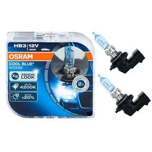 2 Ampoules Hb3 Osram Cool Blue Intense 60w 12v Phares Optique 4200k Xenon Look Nourrir Les Reins Soulager Le Rhumatisme