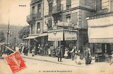 CPA 75 PARIS XIe LA RUE DE LA ROQUETTE