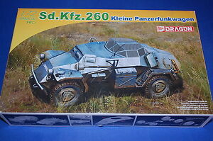 Dragon-7446-Sd-Kfz-260-Kleine-Panzerfunkwagen-scala-1-72