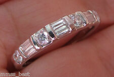 New Kay Jewelers S7 14K 1/2ct Diamond Stackable Wedding Band Ring White Gold