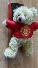 Manchester United Teddy Bear Bag Buddy Keyring Football Gift stocking filler