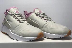 ed9e12b4a0f6 Nike Womens Size 8.5 Air Huarache Run Ultra Light Bone Pink Running ...
