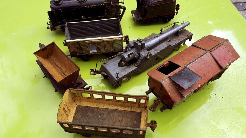Modeltog, Märklin Spor 0 fra 30-erne, skala Spor 0