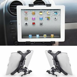 Universal-Car-Air-Vent-Mount-Cradle-Holder-For-iPad-2-3-4-5-Tablet-Tide