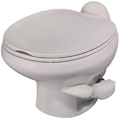 Thetford 42063 Aqua Magic Style II Toilet Low Profile Pedal Flush Bone White