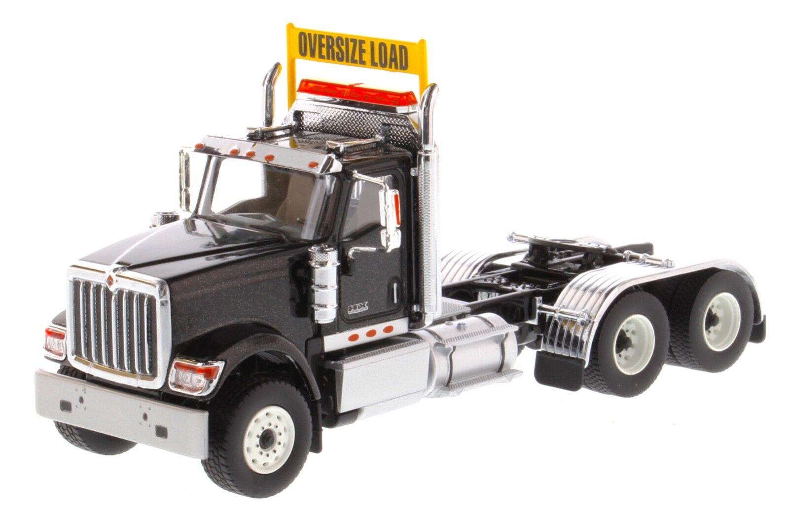 Internacional de escala 1 50 HX520 nero-Diecast Masters 71003 Tractor en tándem