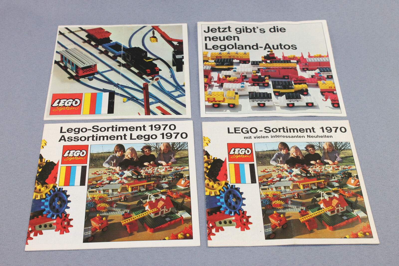 Lego System Beipackzettel   Katalog Katalog Katalog   Neuheiten   Flyer   Sortiment 1970 736441