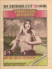 MAGAZINE OOR 1976 nr. 05 - EMMYLOU HARRIS/JOE WALSH/FOCUS/HAUSER ORKATER