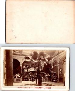 Interieur-du-pavillon-de-la-Principaute-de-Monaco-Vintage-CDV-albumen-carte-de-v