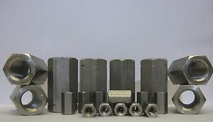 A2-STAINLESS-STEEL-DEEP-NUT-HEX-BAR-CONNECTORS-M5-M6-M8-M10-M12-M16-M20