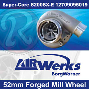 Borg-Warner-S200SX-E-Super-Core-Turbo-52mm-Inducer-Forged-Mill-Wheel-BRAND-NEW