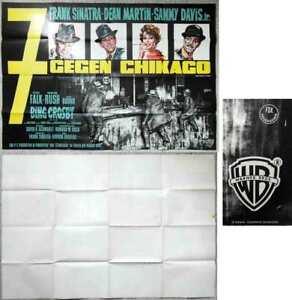Filmplakat-7-gegen-Chikago-1964-Rat-Pack-Frank-Sinatra-Dean-Martin-Sammy-Davis