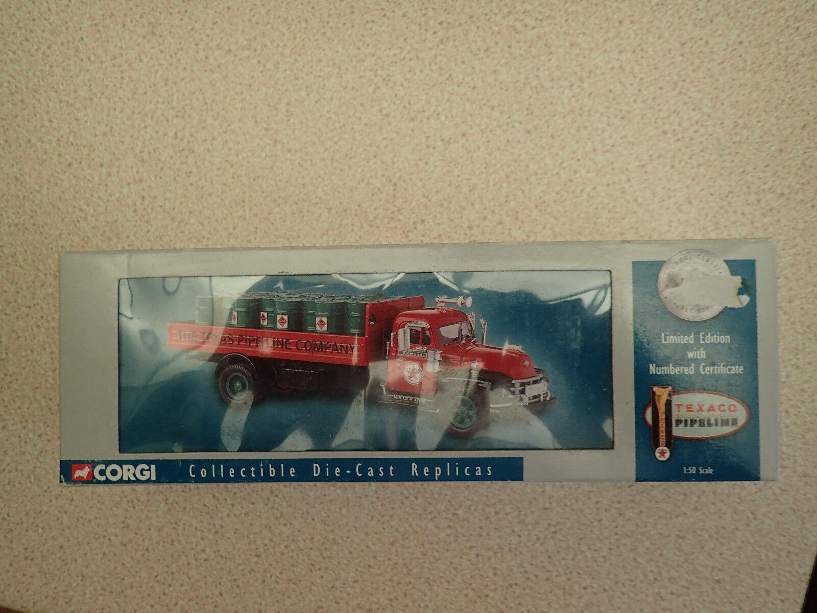 Corgi 1 50 Ltd Edn 52902 Diamond T620 Dropside Texaco Untouched