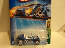 2004 Hot Wheels Treasure Hunt #112 Blue Meyers Manx w/Real Riders