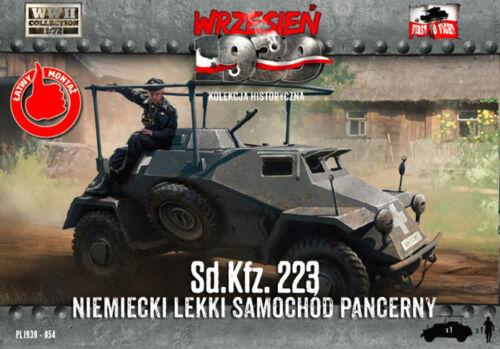 First to Fight 047 Sd.Kfz 222 Deutsches Leichtes Panzerwagen