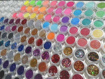 Nail Art *WUNSCH GLITTER PAKET* Mega-Spar-Set Auswahl aus über 150 Glitter NEU