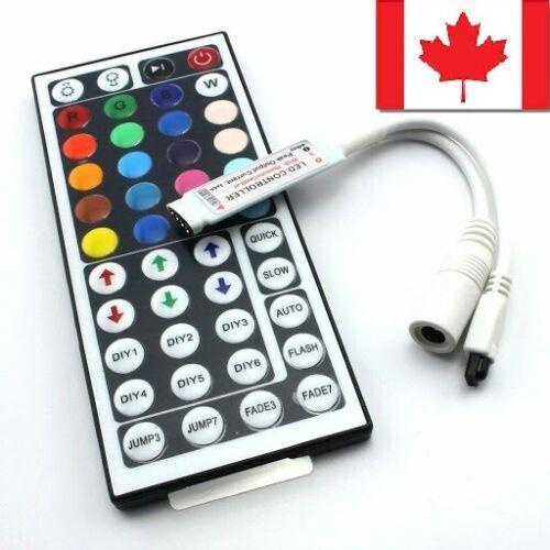 IR Control For 5050//3528 RGB 12V LED STRIP LIGHT with 44KEY Remote Controller ca